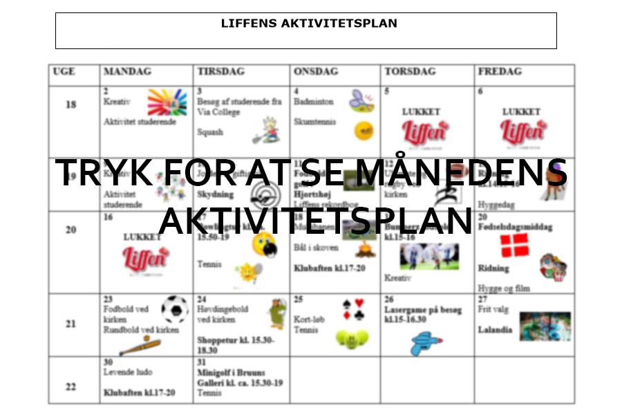 Aktivitetsplan december 2020